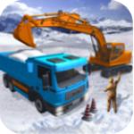 鏟雪挖掘機模擬器