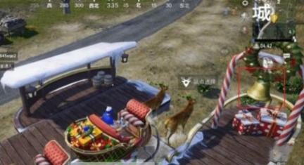 和平精英吃鸡手游驯鹿车在哪刷?