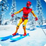 滑雪板下坡