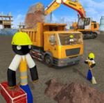 施工挖掘机