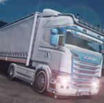 卡车驾驶员模拟器运输重货物