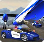 警察飛機運輸車