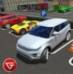 模拟路虎停车