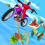 侏罗纪摩托车特技